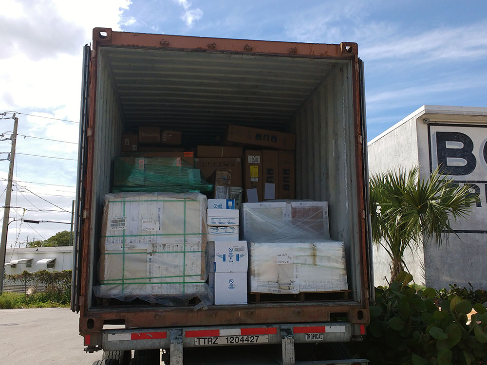 Full Consolidated Container
